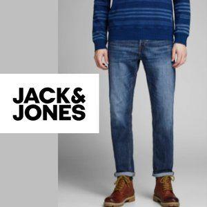 Jack + Jones Nick Button-Fly Jeans 30W x 30L